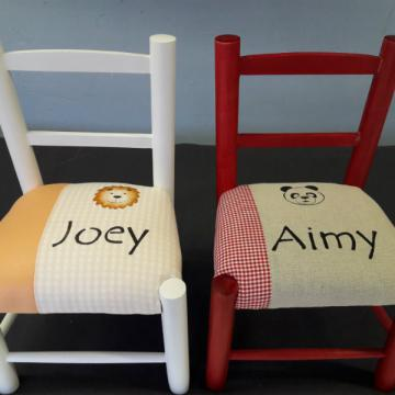 Chaise enfant personalise - Joey Aimy