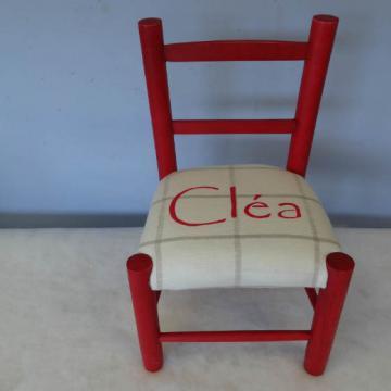 Chaise enfant personalise -Cléa
