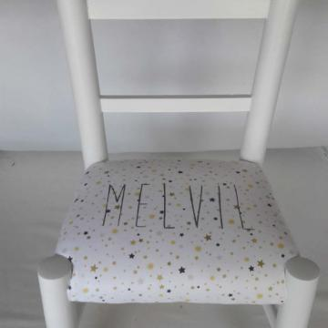 Chaise enfant personalise -Melvile