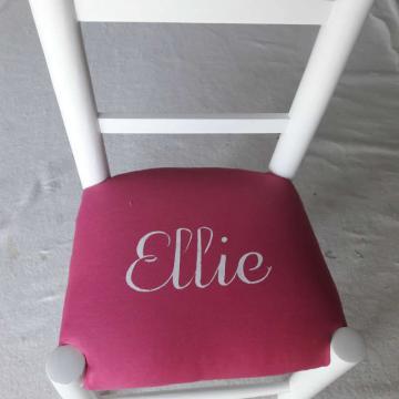 Chaise enfant personalisée - Ellie